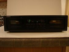 USED ONKYO TA-RW303 DUAL STEREO CASSETTE TAPE DECK PLAYER