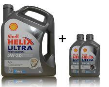 Shell Helix Ultra AG 5W30 1x5 Liter + 2x1 Liter Opel GM Dexos2 Motoröl