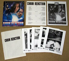 CHAIN REACTION Keanu Reeves PRESSKIT Rachel Weisz PHOTOS Morgan Freeman