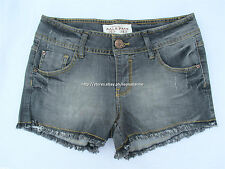 75% OFF PULL&BEAR STRETCH DENIM SHORTS EURO SIZE 34 BNEW US$ 29+