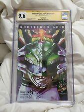 Mighty Morphin Power Rangers #25 SS(Jason David Frank) CGC 9.6