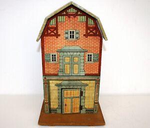Gottschalk Puppenhaus Lagerhaus aus Holz (Baujahr 1920er Jahre)
