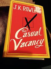1st Edition THE CASUAL VACANCY Hardcover Book By JK ROWLING Good Cond SEE PHOTOS