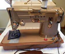 Singer Sewing Machine Model 328K Heavy Duty Industrial Strength + Carring Case