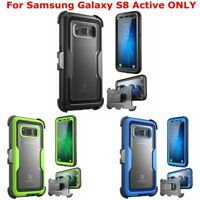 For Samsung Galaxy S8 Active, i-Blason Full Body Case Cover + Screen Protector