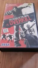 THE HOUSE OF THE DEAD OVERKILL NINTENDO WII GAME PROMO VHS CASE WITH T-SHIRT