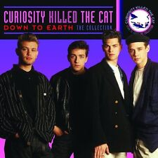 CURIOSITY KILLED THE CAT ~ DOWN TO EARTH   (Best of / Greatest Hits ) NEW CD