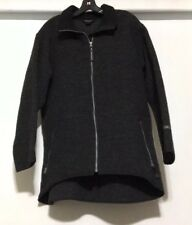 Woolrich John Rich And Bros Full Zip Wool Jacket Gray Size Large