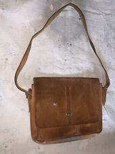 Antique Us Army Field Musette Satchel Leather Field Haversack Bag