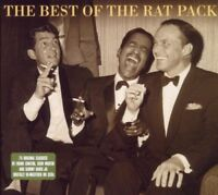 THE RAT PACK - THE BEST OF 3 CD NEW! DEAN MARTIN/FRANK SINATRA/SAMMY DAVIS JR