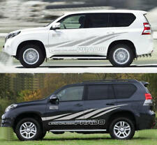 Auto Side Skirt Car Sticker Stripe Decal For Toyota Land Cruiser Prado Two Sides
