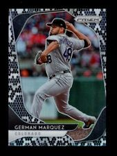 2020 PRIZM SNAKE SKIN #111 GERMAN MARQUEZ 38/50 COLORADO ROCKIES