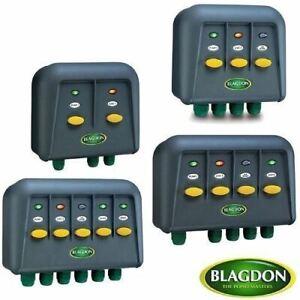 Blagdon Powersafe Weatherproof Electric Switch Box Garden Fish Pond 2 3 4 5 Way