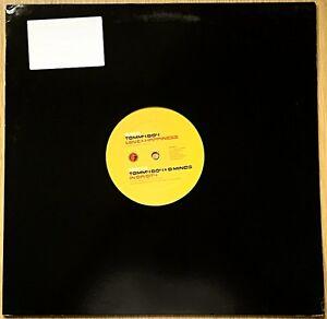"Tommy Boy & D Minds – Love & Happiness / In Da City 12"" Vinyl Record VRECSUK012"