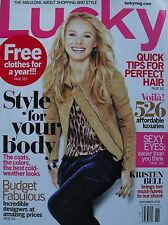 KRISTEN BELL November 2010 LUCKY Magazine NEW