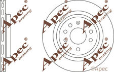 REAR BRAKE DISCS (PAIR) FOR OPEL VECTRA C GTS GENUINE APEC DSK2385