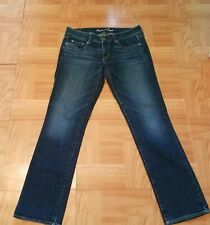 American Eagle Outfitters Womens Jeans Sz 10 Strerch Straight Low Rise Long Fall