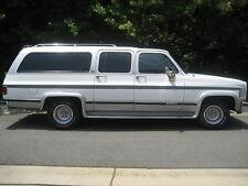 Weatherstrip Seal Kit 1985-91 Chevy Chevrolet GMC Suburban Chrome w Tailgate