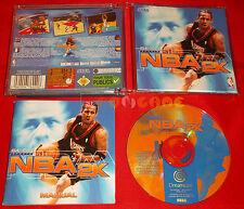 SEGA SPORT NBA 2K Sega Dreamcast Dc Versione Europea PAL ○○ COMPLETO