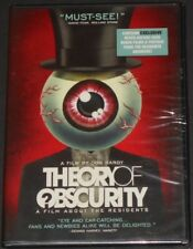 THE RESIDENTS theory of obscurity USA DVD new sealed DOCUMENTARY WITH RARE VIDEO