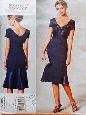 Vogue V1196 Bellville Sassoon Designer Original Sew Pattern ~ Dress Sz 6-10