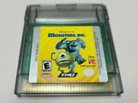 Monsters, Inc. (Nintendo Game Boy Color, 2001) AUTHENTIC GAME ONLY GBC