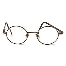 78f55d31ba Marchon M-John Adult Round Metal Prescription RX Eyeglasses 135 249  Pre-Owned