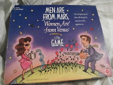 Complete 1998 Men are From Mars Women Are From Venus Board Game Good Condition