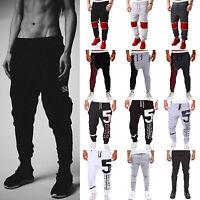 Men's Long Baggy Track Pants Casual Skinny Dance Hip Hop Sport Bottoms Slacks