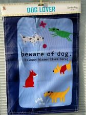 """'""""Reduced Price!""""""""Little Gifts 12""""x18"""" Dog Lover Garden Flag"""
