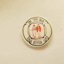 Vintage The Old Fall River Line Pinback Button