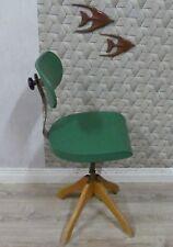 Polstergleich Bürostuhl Drehstuhl Drehfuß Margarete Klöber Design Klassiker grün