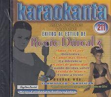 Rocio Durcal 3 Karaokanta KARAOKE New SEALED