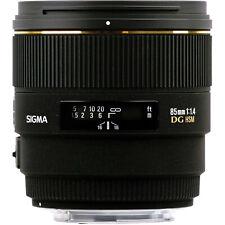 SIGMA 85mm F/1.4 EX DG HSM für NIKON AF D, mit ausgew. MwSt.