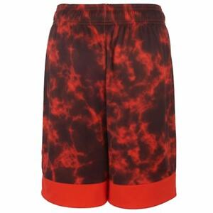 adidas Kids Big Boys Medium Orange Climalite Dynamic Speed Shorts