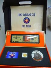 LIONEL RAILROAD CLUB GOLD MEMBERSHIP  KIT- YEAR 2000 - LNL 19991 CAR  -NEW - W3