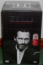 HOUSE SÉRIE COMPLÈTE 46 DVD+8 POSTALES SAISONS 1-8 NEUF SCELLÉ DRAMA R2