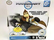 K'Nex Nintendo Mario Kart Wii Donkey Kong Cart Building Set New Sealed Toy