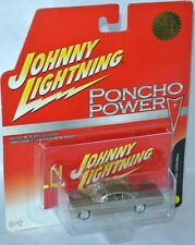 Poncho Power - 1961 Pontiac Catalina-Gold Metallic - 1:64 Johnny Lightning