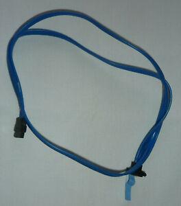 Câble T9219 SATA droit vers SATA coudé Dell Precision T3400 bleu 82 cm