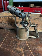 Vintage Companion Brand blow Torch Max Sievert Sweden Made in Australia