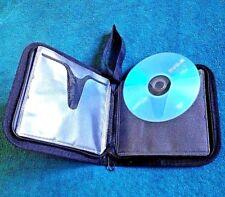 Storage Wallet Organizer Bag CD DVD Holder Media Blu Ray Disc Case Box car TV