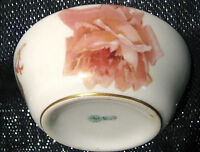 Gorgeous Vintage bowl with floral design made by Royal Doulton.