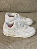 Nike Air Max 90 White Womens Size 8 Running Sneaker Casual