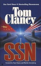 SSN, Tom Clancy, Martin Greenberg, 0425173534, Book, Acceptable