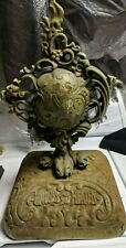 Antique Moore's Air Tight Heater Top Cast Iron Stove Finial