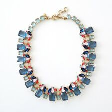 J.CREW Glass bead necklace item H0218, blue glass
