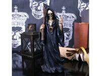 DEATH WISH 22cm Nemesis Now Reaper Skull Gothic Skeleton Figurine BNIB FREE P+P