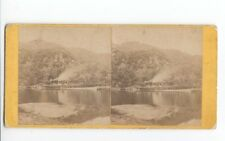 Rob Roy, Streamboat, Loch Katrine. Stereoview Photo