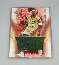 2003-04 Upper Deck Floor/Fabrics Combo Lebron James Rookie